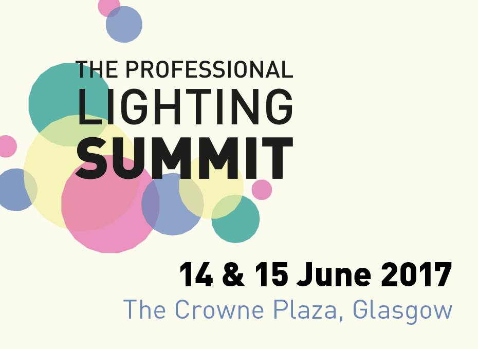 Professional Lighting Summit 2017 Button