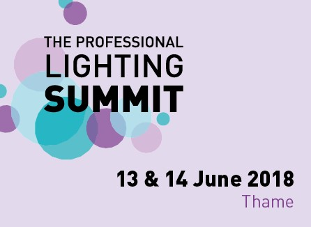 Professional Lighting Summit 2018 Button